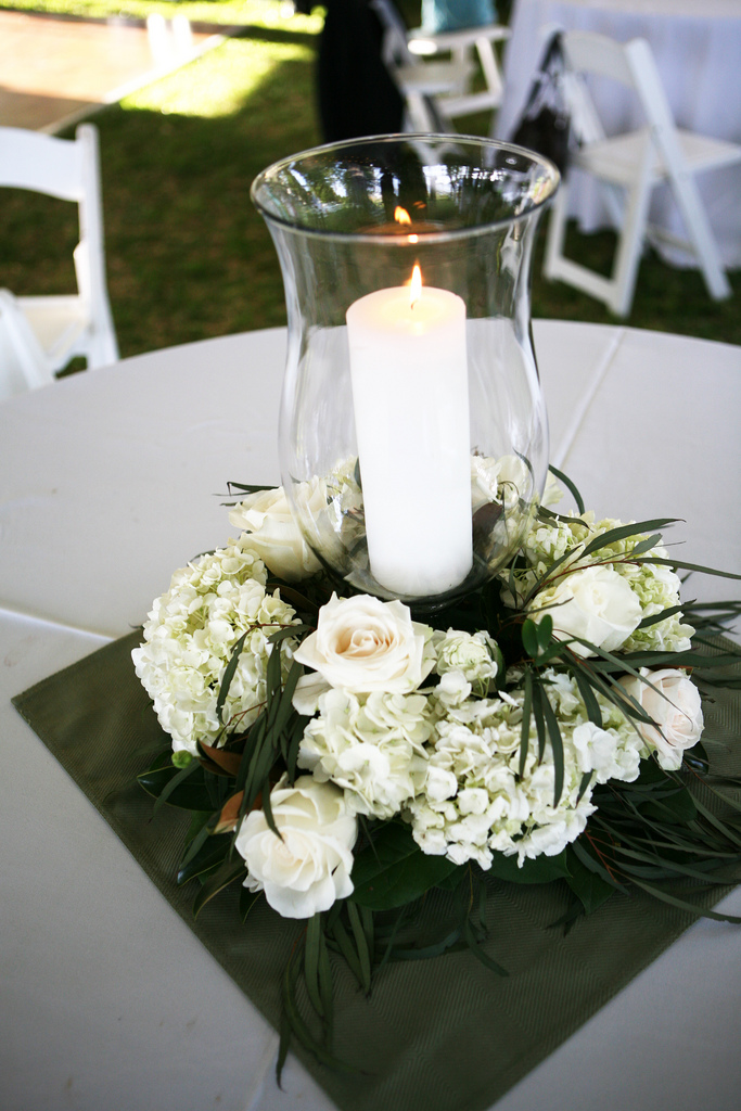 Tall Clear Vases With Flowers