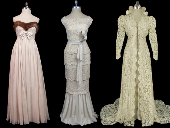 Wednesdays with amy vintage couture bridal gowns floral for Wedding dresses in ga