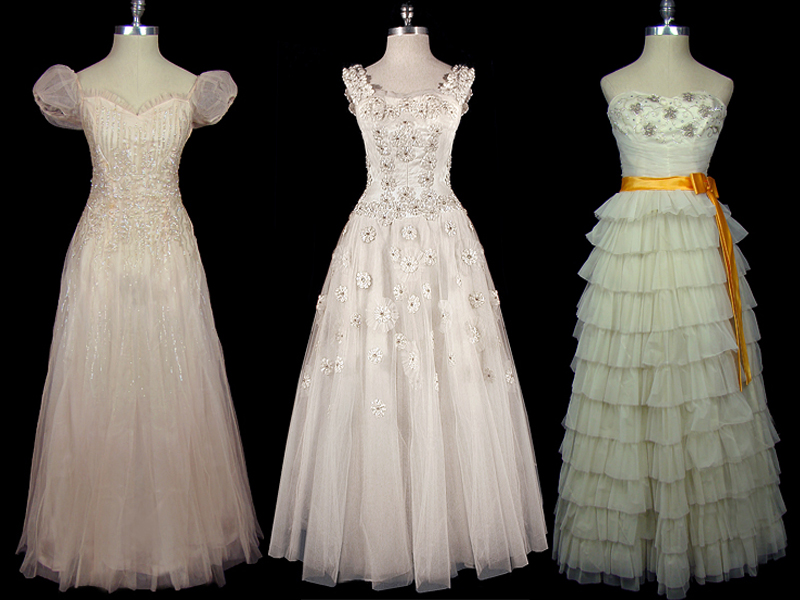 Wednesdays with Amy–Vintage Couture Bridal Gowns–Floral and Event ...